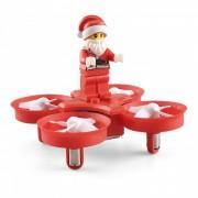 JJRC H67 mosca Santa Noel 2.4G 4CH 6-Axis RC Quadcopter con modo Headless-Rojo