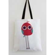 StyBuzz Cute Bird Art Multicolor Tote