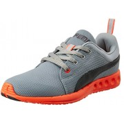 Puma Men's Carson Runner Dp Quarry, Asphalt and Red Blast Running Shoes - 6 UK/India (39 EU)