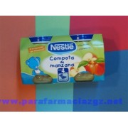 NESTLE BEBE COMP MANZA 2X130 383125 NESTLE COMPOTA DE MANZANA - (130 G 2 U )