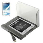 Battery Charger Bundle for Samsung Galaxy Note II / N7100 (Black)