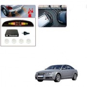 Auto Addict Car White Reverse Parking Sensor With LED Display For Audi A6