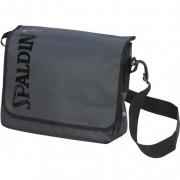 Spalding Sporttasche PREMIUM SPORTS MESSENGER BAG - schwarz