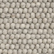 Hay Peas vloerkleed 80 x 200 soft grey