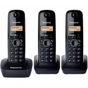 Panasonic Panansonic Kx-Tg1613 Colore Nero Cordless Dect