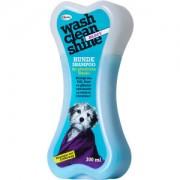 ARDAP CARE GMBH Wash Clean Shine Shampoo, 300 ml, Für seidig glänzendes Fell und gepflegte Haut , BLUCY - zur Entfilzung