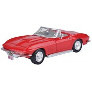Motormax 1:24 1967 Corvette (American Classic Diecast Collection) (Red)