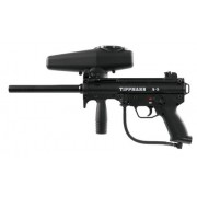 Tippmann A5 Paintball Gun with Response Trigger - Black