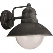 Philips venkovní nástěnné svítidlo lampa Philips Massive 17237/54/10 - černá a kovově šedá