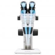Olympus Microscopio stereo zoom SZ51, luce trasmessa, bino