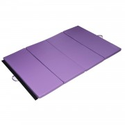 HOMCOM Exercise Mat, 1.83 m - Purple