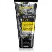 Bielenda Carbo Detox Active Carbon pasta de curatare pentru ten cu carbon activ 3 in 1 150 g