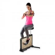 Klarfit Roomik Move Vélo cardio training volant d'inertie 8kg - bois de bouleau