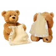 Peek-A-Boo Interactive Teddy Bear Toy