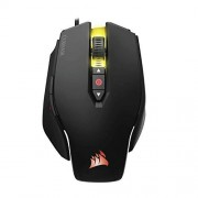 Corsair M65 Pro RGB FPS Gaming Mouse 12,000 DPI Optical Sensor Adjustable DPI Sniper Button Tunable Weights Black