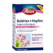 ABTEI Baldrian+Hopfen Dragees zur Beruhigung 80 St