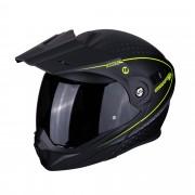 Scorpion Casco Moto Modulare Adx- 1 Horizon Matt Black Neon Yellow