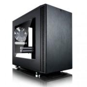Кутия Fractal Design Define Nano S - Window, ITX, 2x USB 3.0, черна, без захранване
