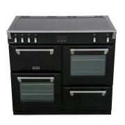 Stoves Richmond S1000Ei Black 100cm Electric Induction Range Cooker