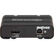 Външен мулти-дисплей адаптер Matrox D2G-DP2D-IF за едновременна работа на 2 монитора с DP вход