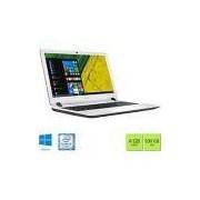 Notebook Acer ES1-572-347R Intel Core i3 4GB 500GB Tela HD 15,6 Windows 10 - Branco
