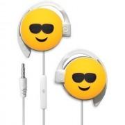 Start Auricolare A Filo Stereo Smile-03 Headphones Jack 3,5mm Universale Per Musica Yellow Per Modelli A Marchio Brondi