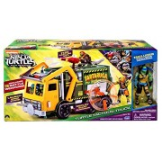 "Teenage Mutant Ninja Turtles Out Of The Shadows Turtle Tactical Truck Exclusive 4"" Action Figure Vehicle [Exclusive Leonardo Figure]"