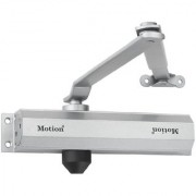 Hydraulic 65kg Automatic Aluminium Door Closer (Silver) - MI100