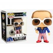 Funko Pop Elton John Red White and Blue