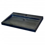 Best design Wastafel Best Design Limestone Opbouw Kraan 70x45x6cm m/krgat