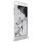 Husa Protectie Spate Ringke Slim Frost White pentru Samsung Galaxy Note 7 plus folie protectie Invisible Screen Defender