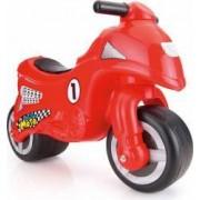 Prima mea motocicleta DOLU Rapida realizata din plastic rezistent Rosie