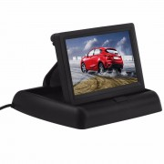 "PodofoKoop Auto Monitoren 4.3 ""TFT Lcd-scherm Rear View Monitor Screen Digitale Panel Kleur Auto Achteruitrijcamera Auto Video Speler"