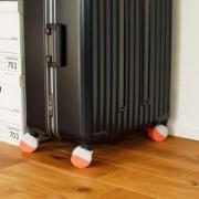 日本製 キャリーケース・6センチキャスター用「ゴロゴロソックス4個セット」