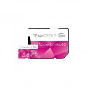 Micro SD Card, 256GB, TEAM GROUP ELITE Color, 1xAdapter, Class 10 (TCUSDX256GUHS46)