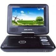 """Majestic Dvx166usb Lettore Dvd Portatile Display 7"""" Usb / Sd Con Telecomando Colore Nero - 100166 Dvx-166 Usb / Sd"""
