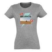 YourSurprise T-shirt - Femme - Gris chiné - XL