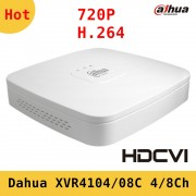 Dahua XVR video recorder XVR4104C XVR4108C 4ch 8ch 720P Support HDCVI/AHD/TVI/CVBS/IP video inputs