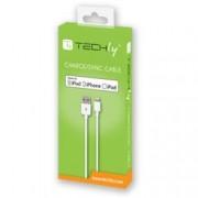 Techly Cavo da Apple Lightning a USB 1m Bianco