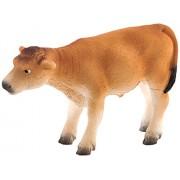 Mojo Fun 387147 Jersey Calf Standing Realistic Farm Animal Toy Cow Replica New For 2013!