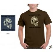 """Sniper Men """"Mask"""" T-shirt (Putty)"""