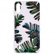 Husa Samsung A10 - Tpu , Leaves Design