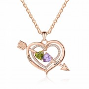 Herzschmuck Amor Halskette