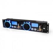 Skytec Reproductor MP3 DJ STC-50 2 decks USB SD (Sky-172.797)
