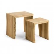 Kave Home Conjunto de 2 mesas ninho Zuleika