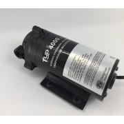 Bomba Booster para Osmosis Inversa 400GPD con Fuente de Poder y Switch de Presión