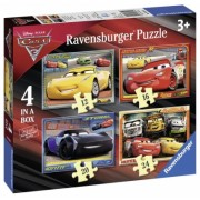 Puzzle Cars, 12/16/20/24 Piese Ravensburger