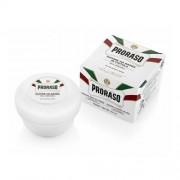 Proraso Săpun pentru ras, potrivit pentru pielea sensibilă cu ceai verde White (Shaving Soap) 150 ml