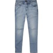 river island Mens Light Blue ripped Sid skinny jeans (26S)