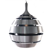 Design hanglamp 'COSMO' uit geborsteld aluminium